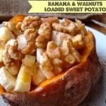 Loaded Sweet Potato Banana Walnut Breakfast Recipe
