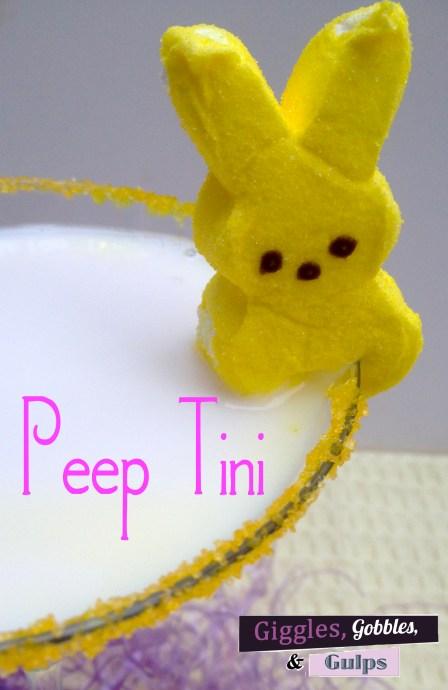 Peep-Tini Easter Martini
