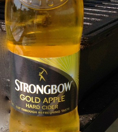 Malt Monday Beer Review of the Week:  Strongbow Gold Apple Hard Cider