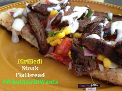 Grilled Summer Steak Flatbread