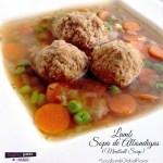 Lamb Sopa de Albondigas (Lamb Meatball Soup)