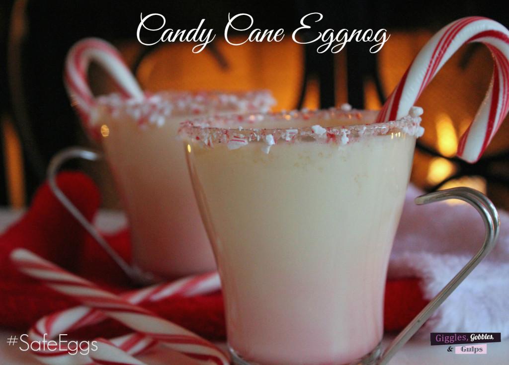 candy cane eggnog