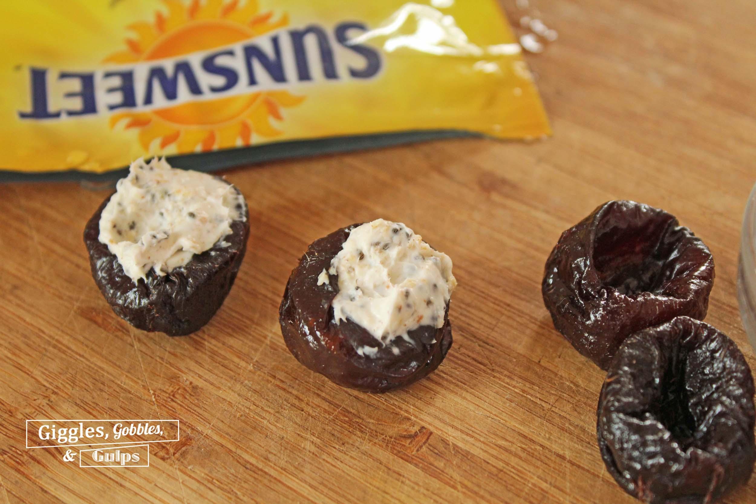 cream cheese stuffed prunes1