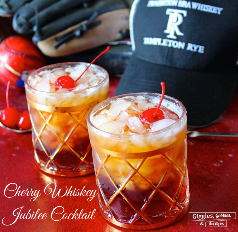 Cherry Whiskey Jubilee Cocktail Photo-2