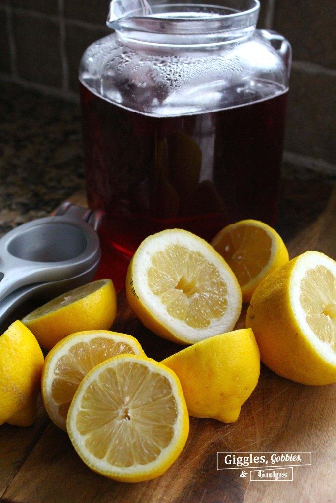 cranberry hibiscus tea lemonade refresher3