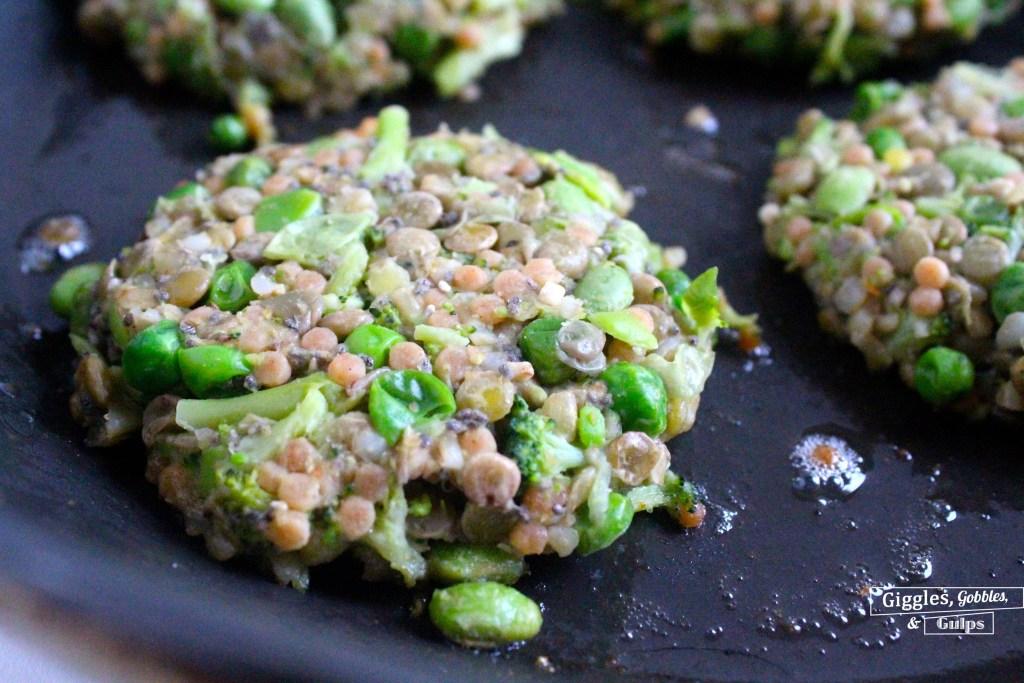 california style protein veggie patty with chicken8