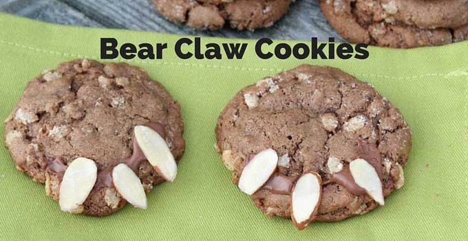 Bear Claw Cookies | Mini Chef Mondays