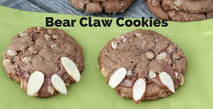 Bear Claw Cookies | Mini Chef Mondays