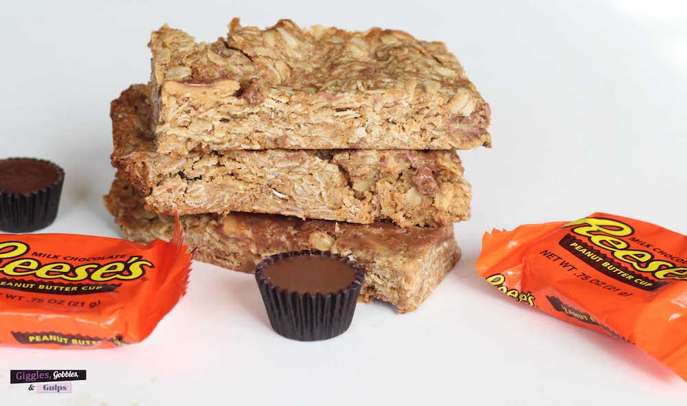 leftover halloween candy granola bars