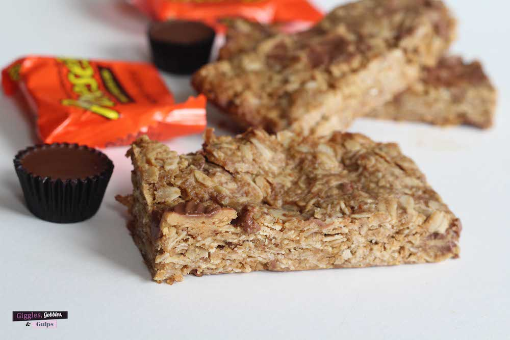 leftover halloween candy granola bars1