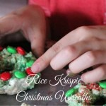 Rice Krispie Christmas Wreaths | Mini Chef Mondays