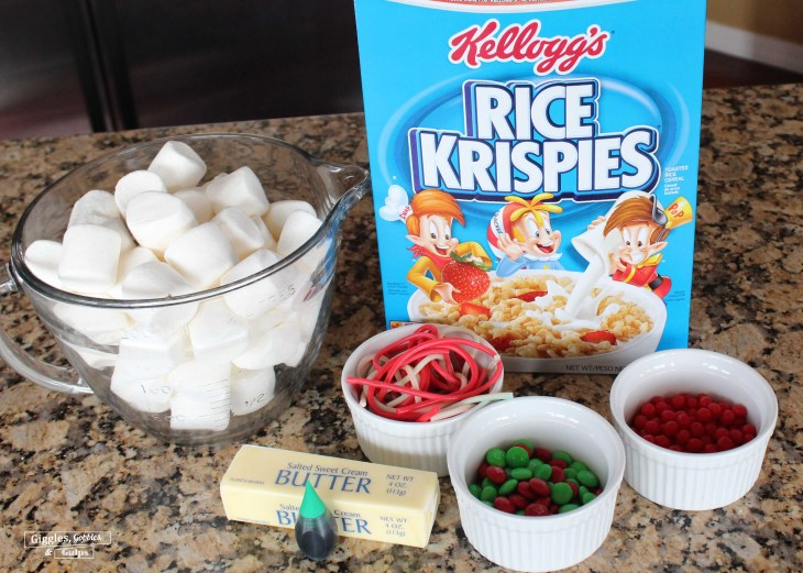 Rice Krispie Christmas Wreaths5