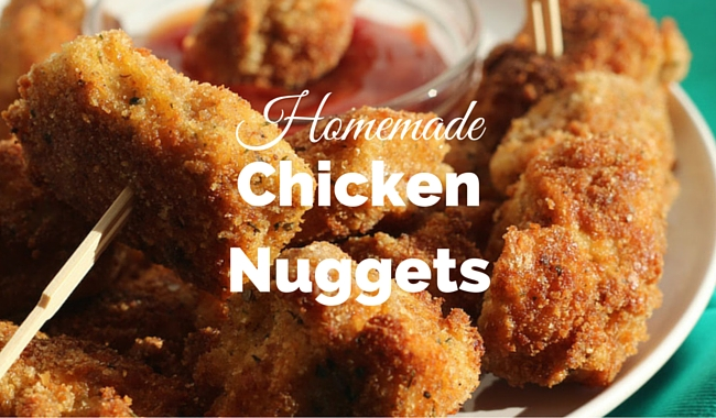 Homemade Chicken Nuggets | Mini Chef Mondays