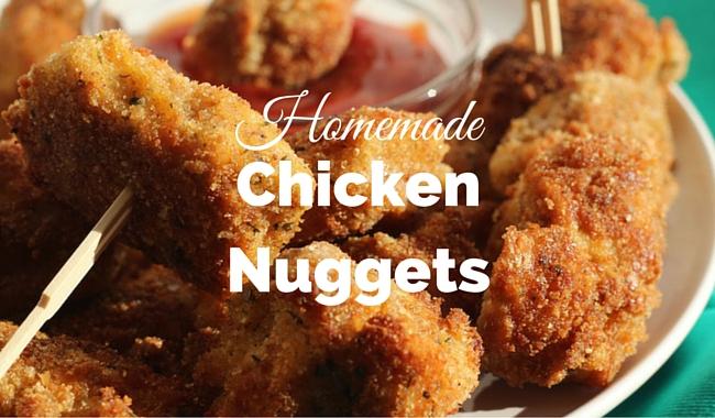 Homemade Chicken Nuggets | Mini Chef Mondays