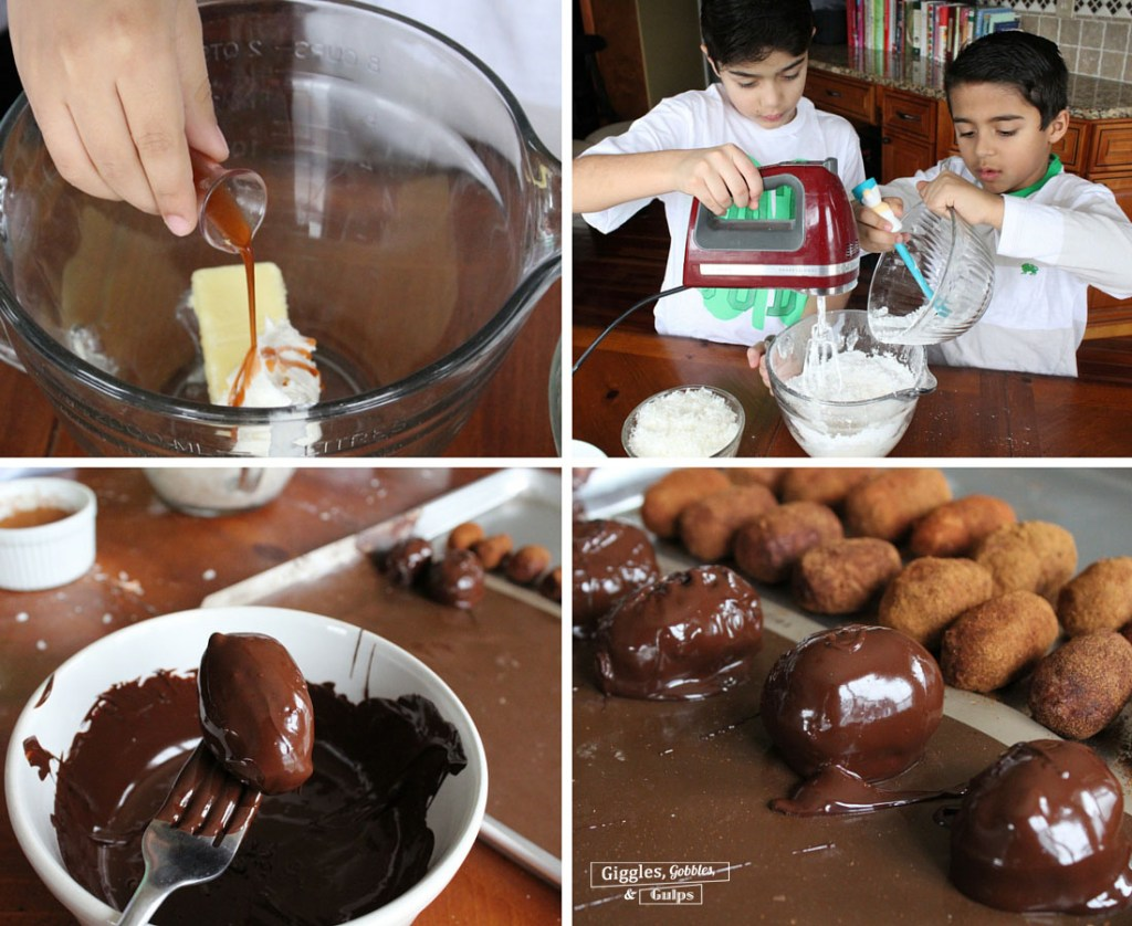 Chocolate Covered Irish Potatoes 4