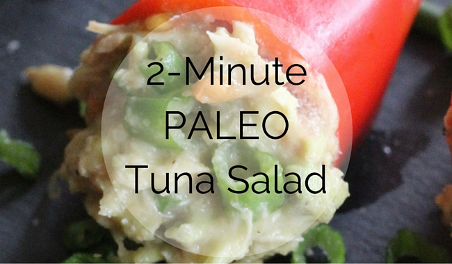 2-minute Paleo Tuna Salad