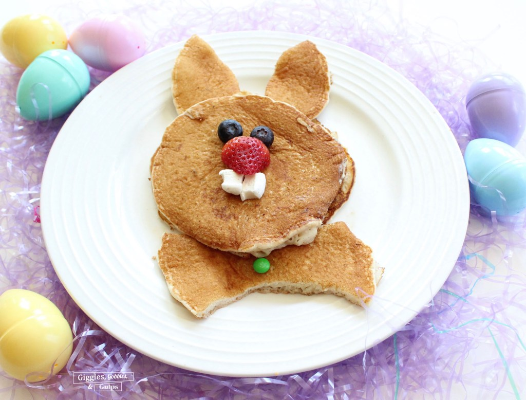 bunny rabbit pancakes for easter copy