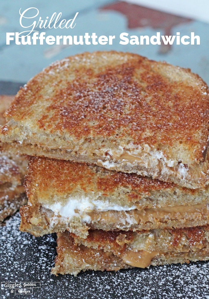 grilled fluffernutter sandwich