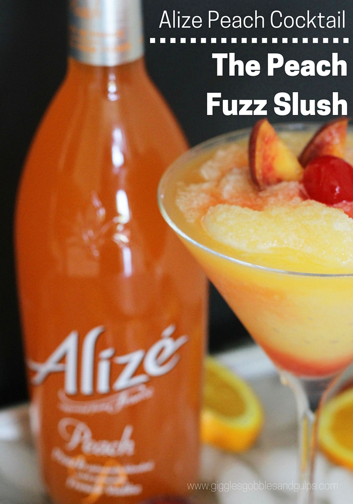 Alize Peach Cocktail