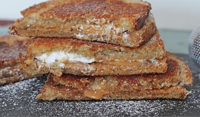 Grilled Fluffernutter Sandwich   Mini Chef Mondays