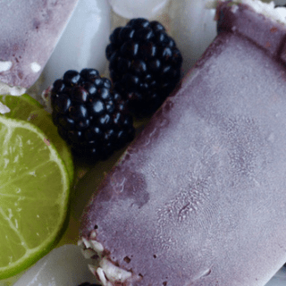 blackberry lime paletas
