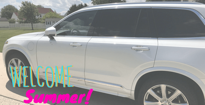 Welcoming Summer with the Volvo XC90