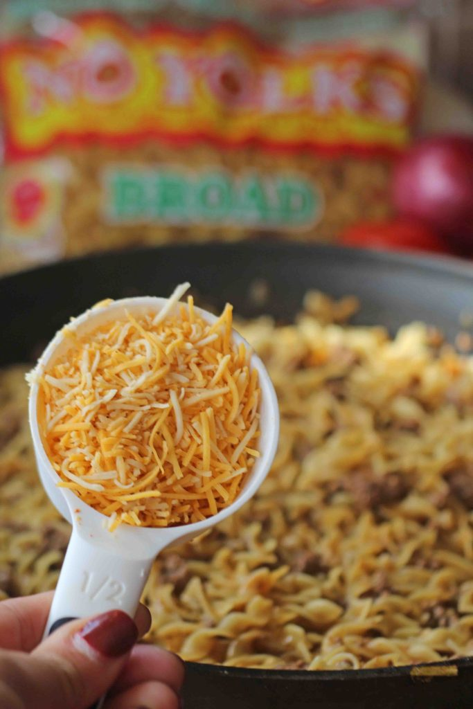 one pot taco noodles
