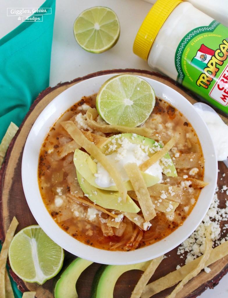 pork tortilla soup