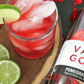 Honey Pomegranate Cocktail