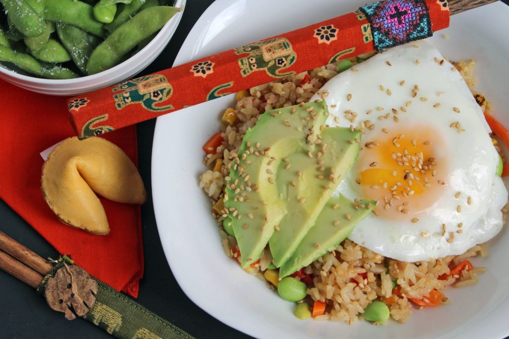 Fried Rice Bowl with Egg