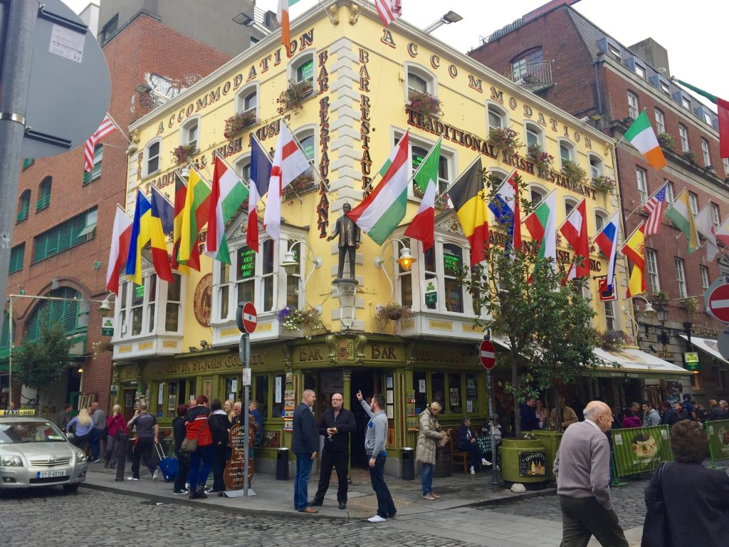 My Food Tour of Dublin Ireland