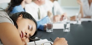How To Sleep In A Meeting Tips