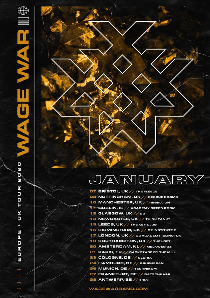 Wage War Tour 2020