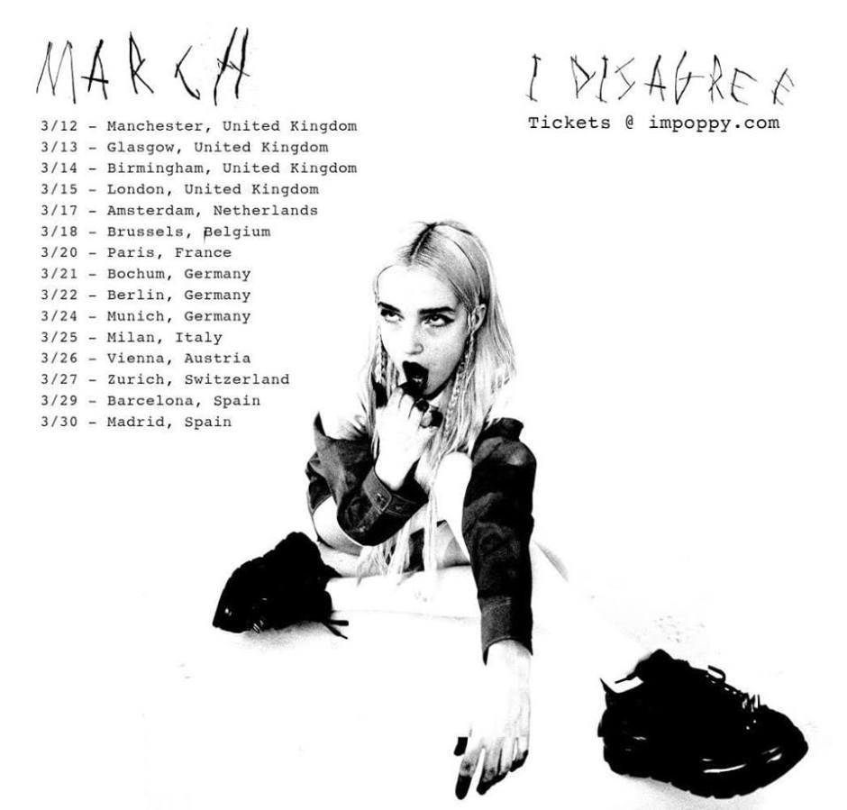 Poppy Tour 2020