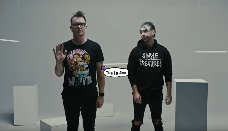 simple creatures one little lie video