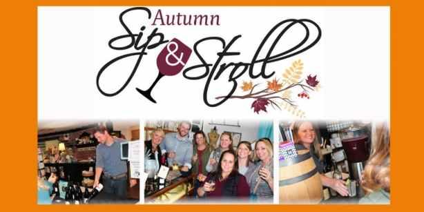 Autumn Sip & Stroll