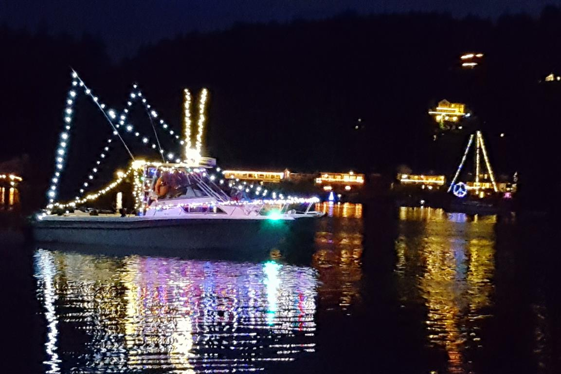 Lighted Boats Dazzle the Harbor | Gig Harbor Marina & Boatyard