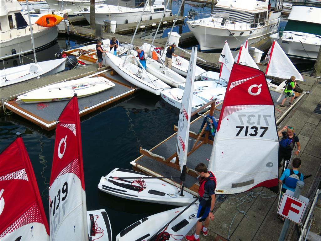 Junior Sail floats