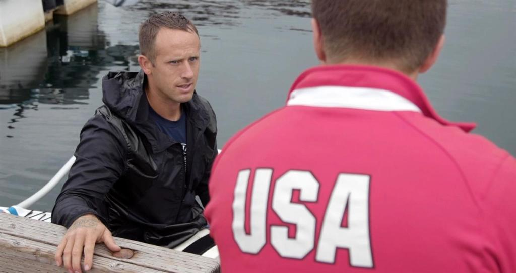 Mike McCallum and coach