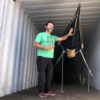 John Synco and new gondola