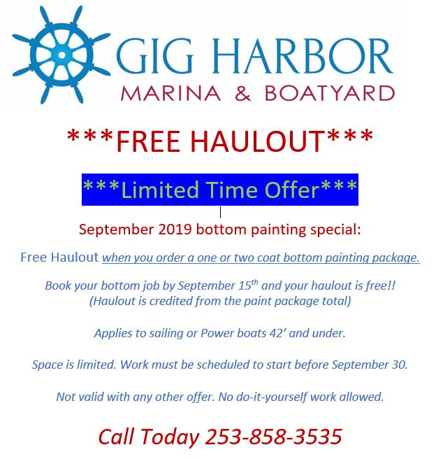 Free haulout