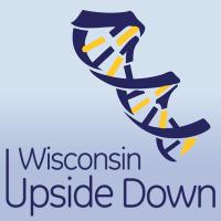 wisconsin upside down logo