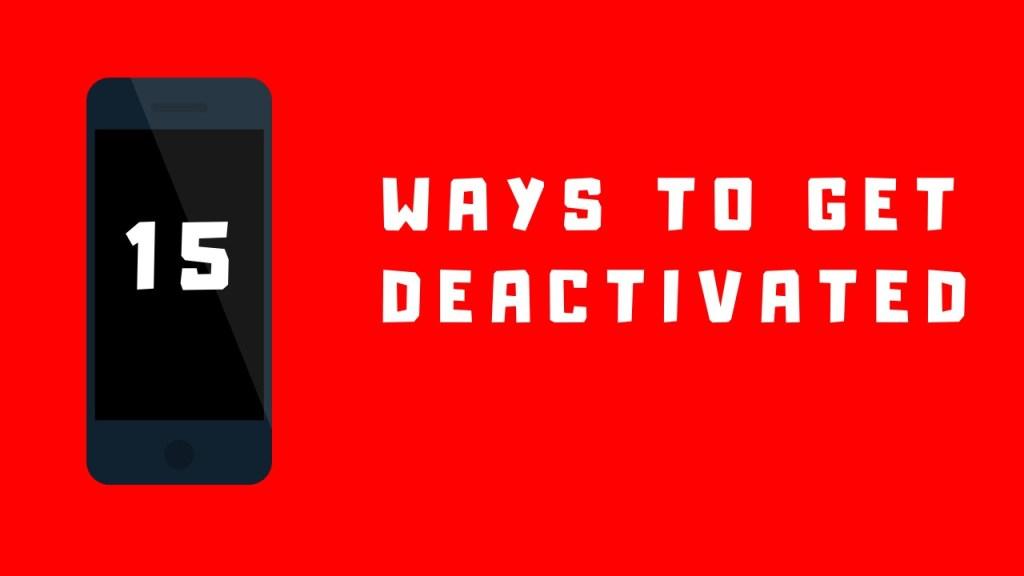 deactivated by doordash