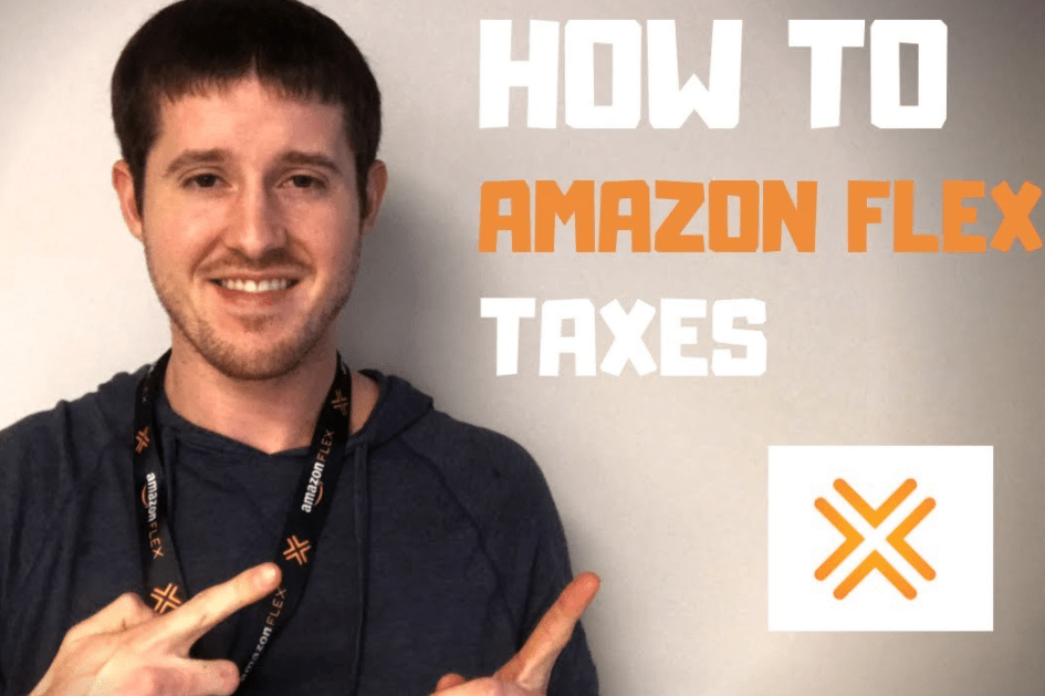 amazon flex taxes