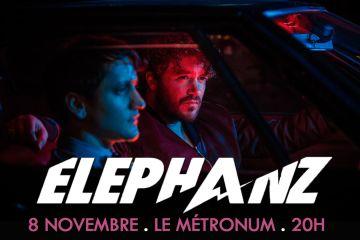 ELEPHANZ en concert au Metronum de toulouse