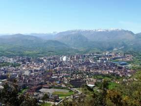 Oviedo desde las alturas.