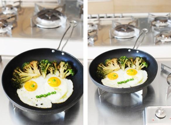 Faccia di uovo e capelli di broccoli https://gikitchen.wordpress.com/2014/10/18/faccia-di-uovo-e-capelli-di-broccoli/
