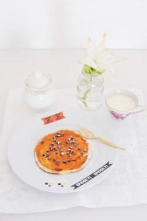 Pancake Zucca e cioccolato https://gikitchen.wordpress.com/2014/10/31/vigilia-halloween/