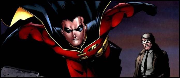 Тим Дрейк (Красный Робин) история
