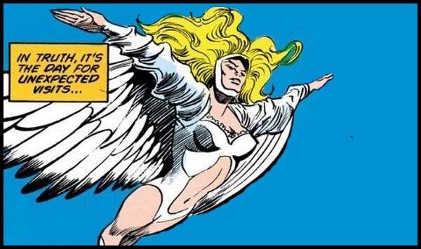 Серебряный Лебедь комиксы DC